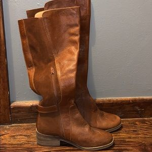 Lucky Brand Real leather tall boots, size 8, $65